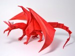 Awesome Dragon Origami
