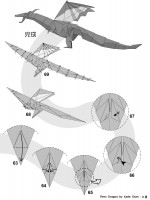 Follow this Dragon Origami Instructions