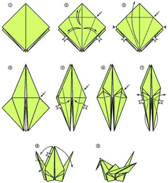 easy origami crane instructions for kids