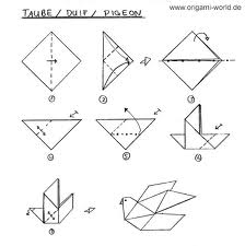 Simple Easy Origami Diagrams