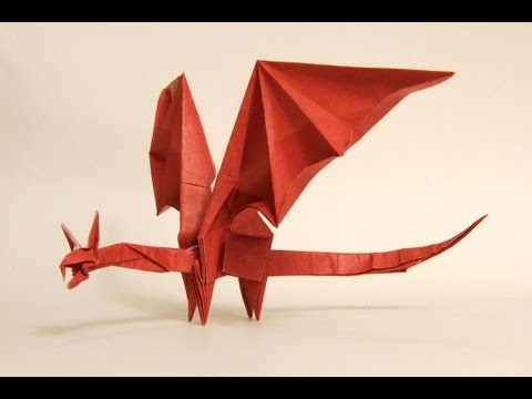 Cute and Easy Origami Dragon