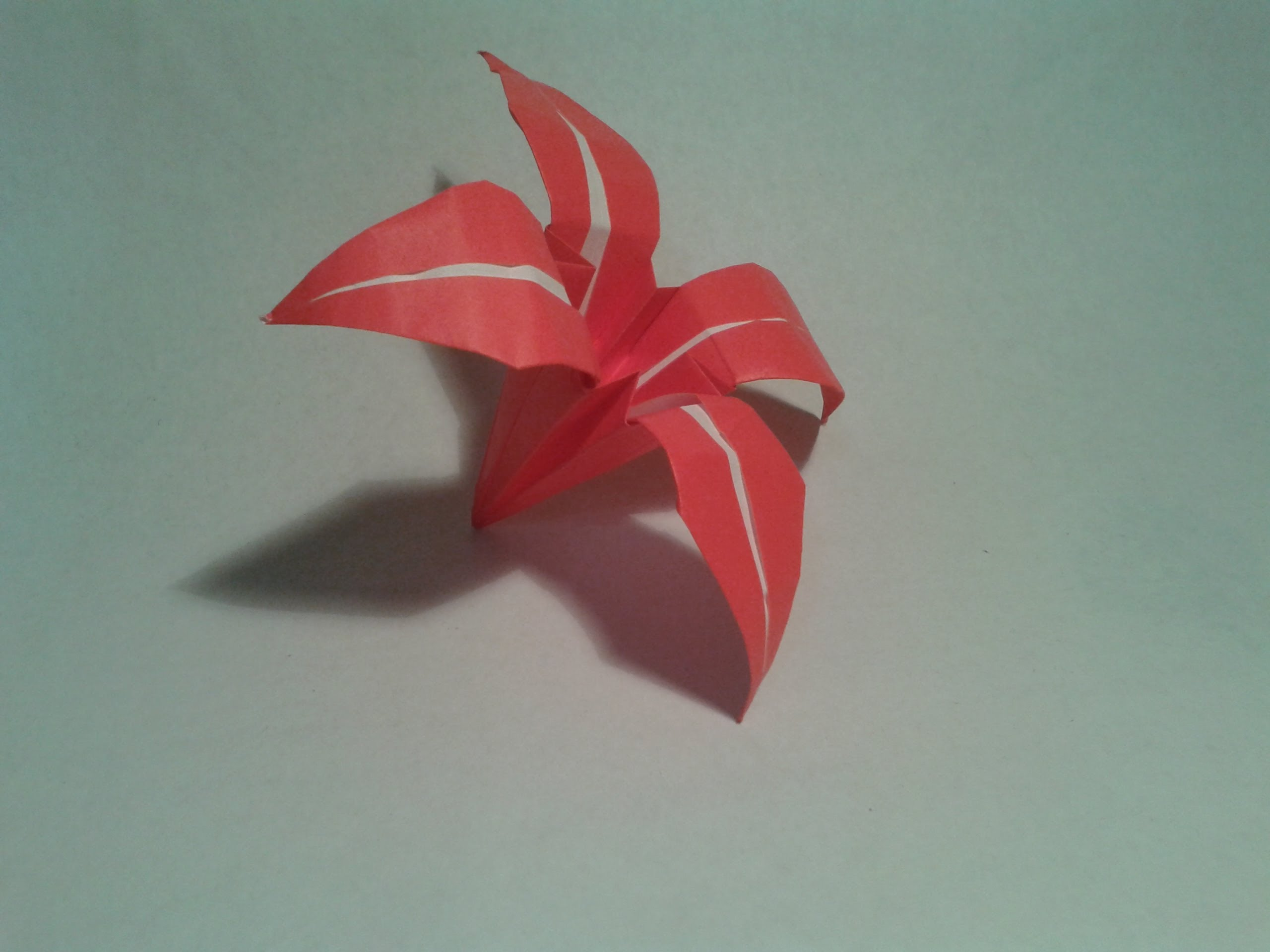 very easy origami flower 2018