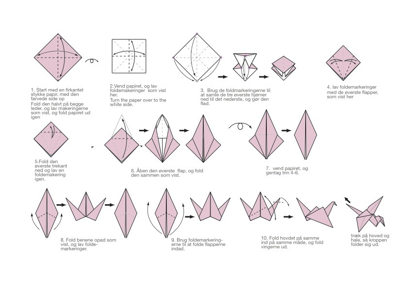 Come and Get Free Origami Instructions