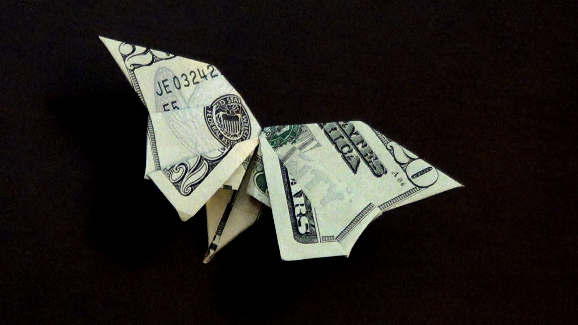 Cool Money Origami Butterfly