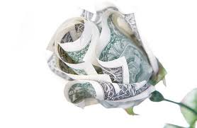 Creative Money Origami Flower