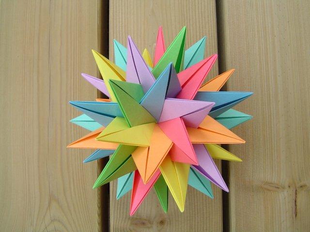 Sharp Origami 3D Star