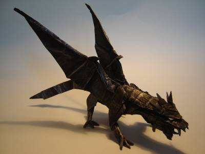 Really Cool Origami Ancient Dragon