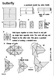 Lovely Origami Butterfly Instructions