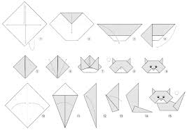 Cute Origami Cat Instructions