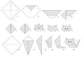 Cute Origami Cat Instructions