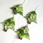 Neat Origami Christmas Decorations