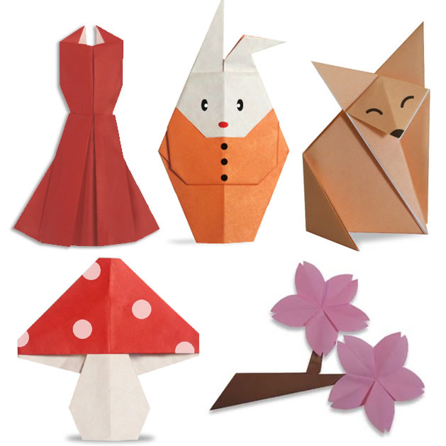 Cute Origami from Origami Club