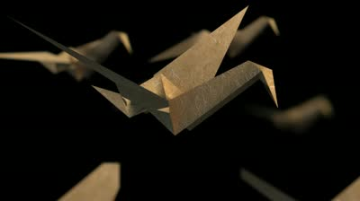 Interesting Origami Crane Video