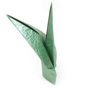 Fine Origami Flower Stem