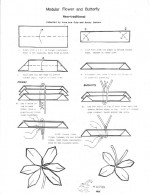 Nice Origami Flowers Diagrams