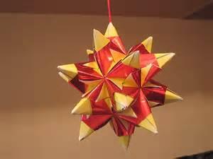 Hanging Origami Foil Paper