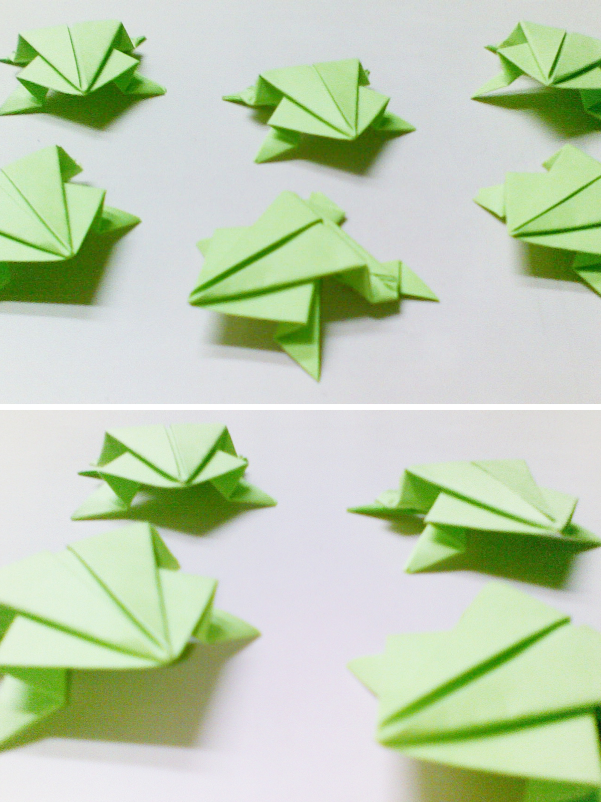 Very Simple Origami Frogs 2018 - photo#2