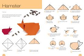 Cute Hamster Origami Instruction