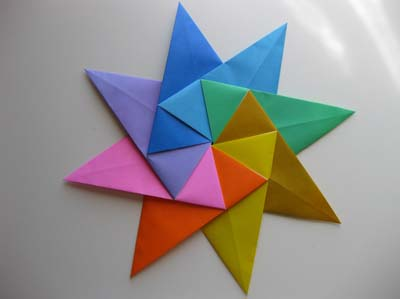 Standard Origami Modular Star