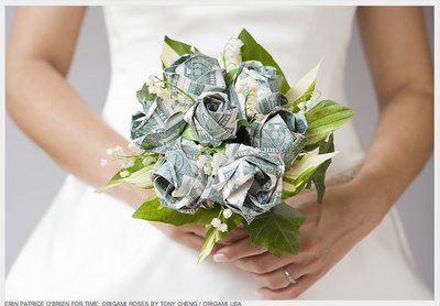 Nice Origami Money Flower