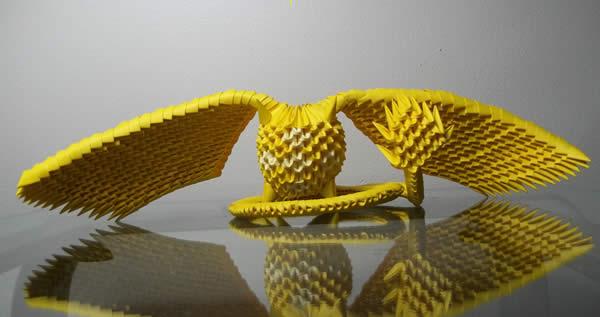 Bird Like Origami Paper Canada