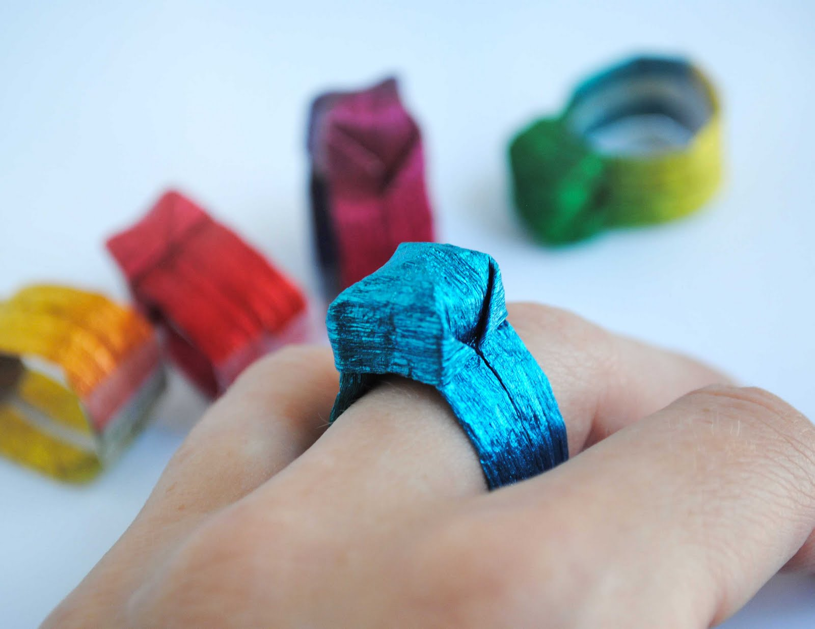 ring origami paper crafts 2018