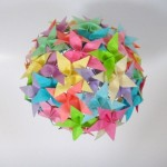 Round Flowers Origami Paper Nz
