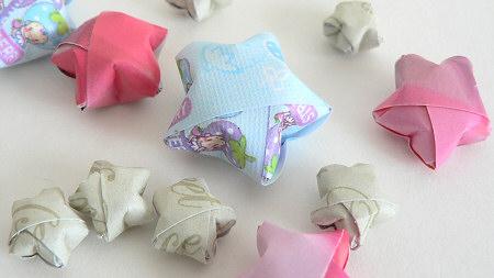 Multi Sized Origami Paper Stars