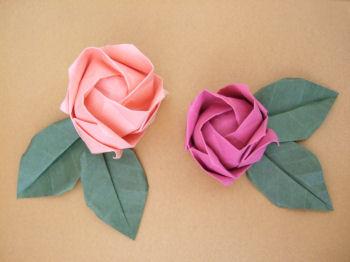 Cute Origami Roses