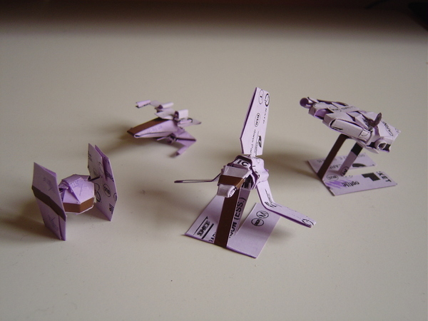 Cool Origami Star Wars