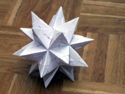Interesting Origami Star
