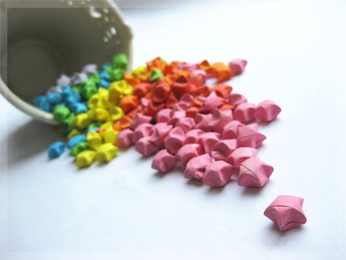 Lots of Origami Stars