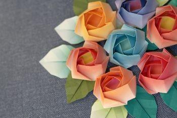 Appealing Paper Rose Origami