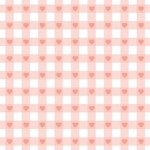 Heart Print Origami Paper