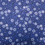 Blue Flowered Washi Origami Paper