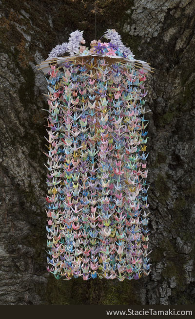 Fabulous 1000 origami cranes
