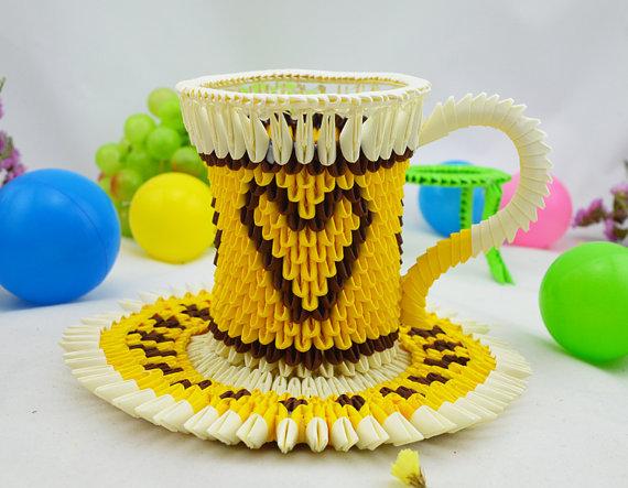 Cup 3D Origami Art