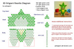 Awesome 3d origami diagrams