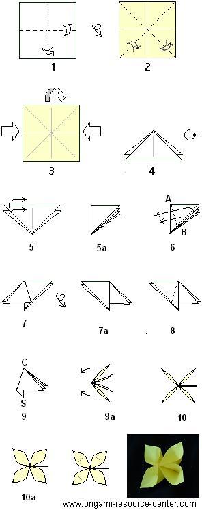 Nice Easy Origami Flowers