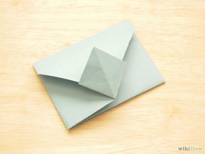Green Envelope Origami
