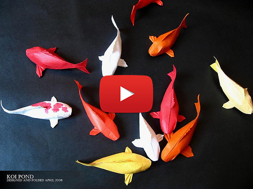 How to make origami fish 2018 for Origami koi fish