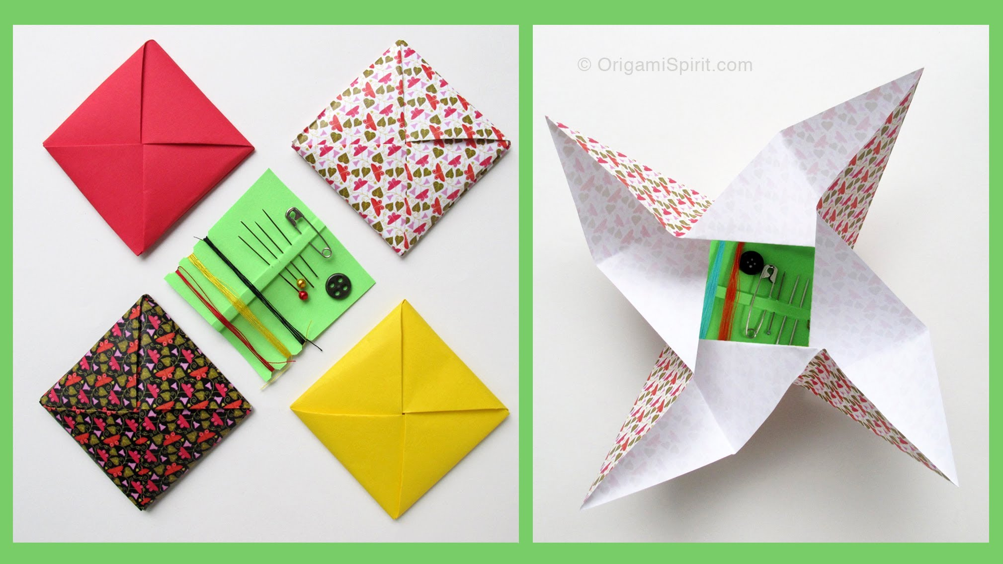 Awesome Origami Envelopes