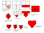 Lovely Origami Heart Instructions