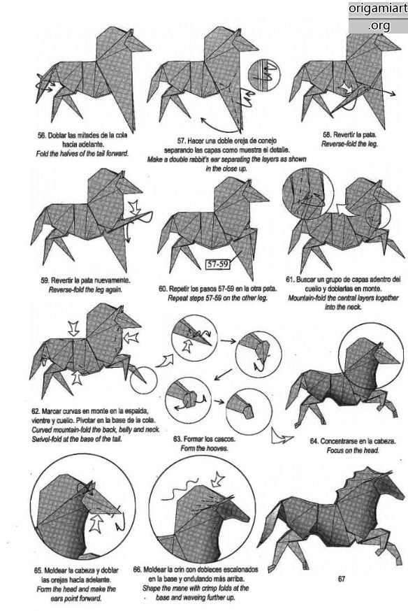 Stunning Origami Horse Instructions
