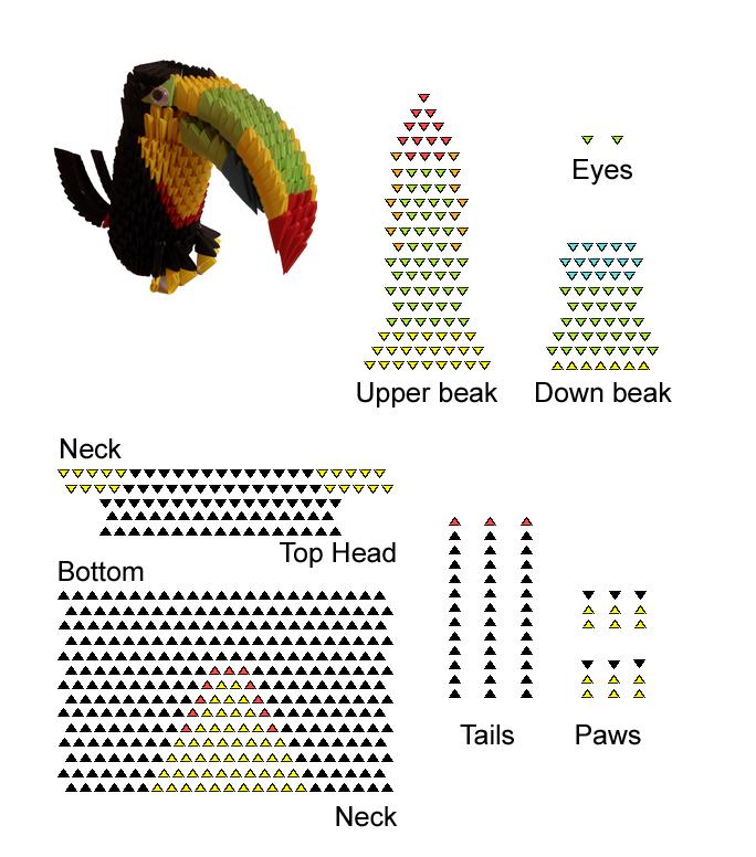 Parrot Origami Instructions.com