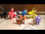 Various Pokemon Origami