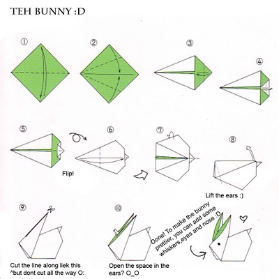 Resplendent Simple Origami