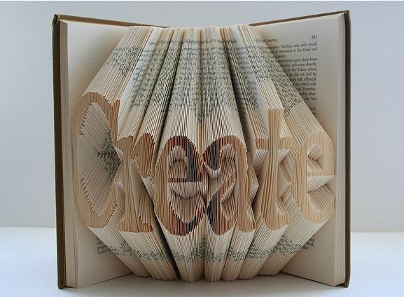 Cool book origami