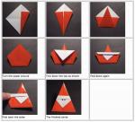 Gorgeous christmas origami