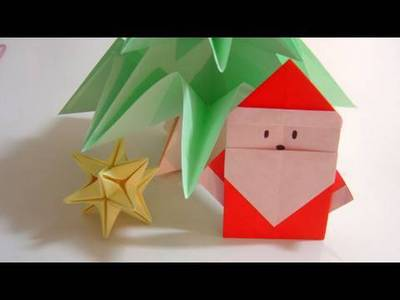 Angelic christmas origami for kids